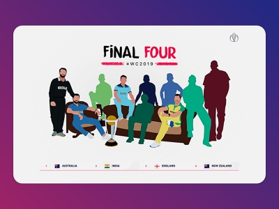 009 | The Final Four of World cup 2019 newzealand england india final four 2019 world cup cricket