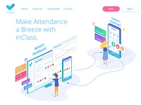 Inclass Landing Page