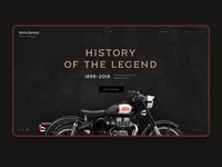 History of the legend. Royal Enfield