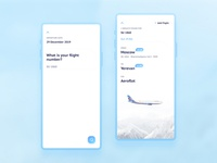 Mobile App · Flight Tracker l 25 · 365