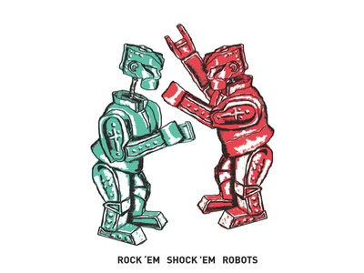 Rock 'em Shock 'em Robots