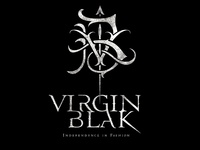 Virgin Blak logo lockup
