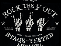 Rock The F Out / Skeleton Sign Language