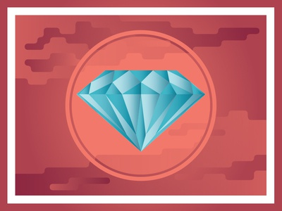 Ddiamondd diamond vector geometric illustration design