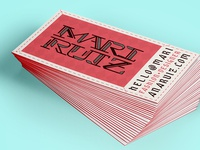 Mari Ruiz - Business Card