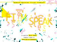 Film Speak Poster
