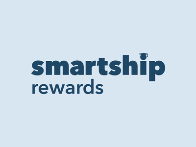 Smartship blue logo ship smart