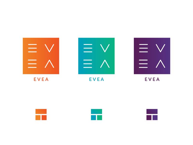 EVEA mark v e logo evea