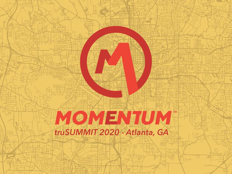 Momentum Red logo yellow red