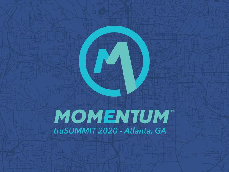 Momentum Blue logo blue momentum