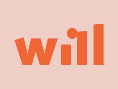 Will Logo goal achieve logo thrive will