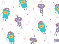 Robot Xxxy and Zee!