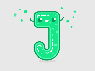 Typehue J (Jolly Jelly) Week 10 weekly typography typehue type lighthouse letter design creative colour playoff challenge