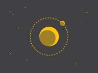 Typehue O (Orbit) Week 15 alien space nasa orbit weekly letter icon design challenge typehue