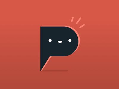 Typehue P (PopUp) Week 16 typehue challenge design icon letter weekly playful positive popup