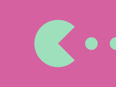 Typehue Q (Quarter) Week 17 positive playful weekly letter icon design challenge typehue pacman