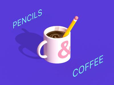 pencils & coffee