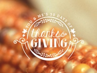 30 Days of Thanks & Giving