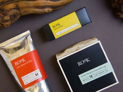 Rook skincare packaging