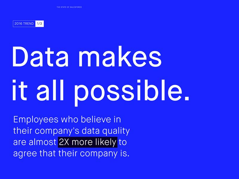 Annual data report mock blue cobalt printdesign layout