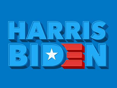 Vote Biden / Harris election vote harris biden logo lockup logo
