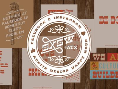Little something for SXSW texas austin design instagram facebook sxsw