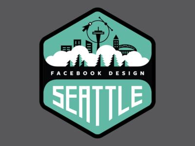 Facebook Design Seattle patch design crest crest logo design team patch facebook