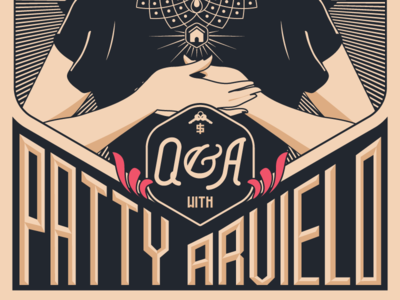 Patty Arvielo comes to Facebook illustration typography type patty arvielo
