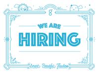 We are hiring! (Art Director, B2B marketing)