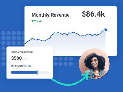 Design System - Card / Monthly Revenue