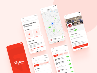 Tufero / Mobile app car barber car repair car service repair service services app mobile app design mobile design mobile app mobile ui mobile search results search ux design uidesign ux ios ui