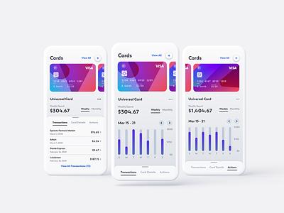 Universal Credit Card App credit card payment uiux ui credit card form cash credit card