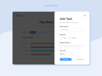 Add A Task - Task Management UI