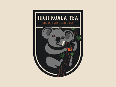 High Koala Tea - THC Infused Herbal Tea