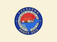 Ramen Dojo Badge Branding