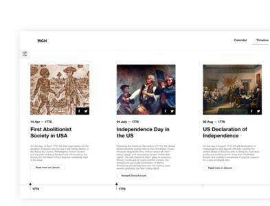 Timeline design history layoutdesign layout exploration ux  ui uidesign