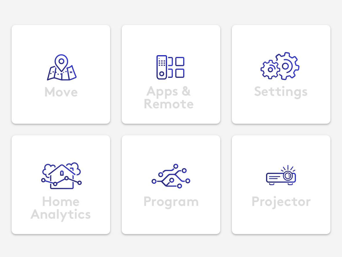 Web app icons app icon illustration vector design