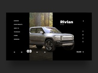Rivian Truck Preview UI