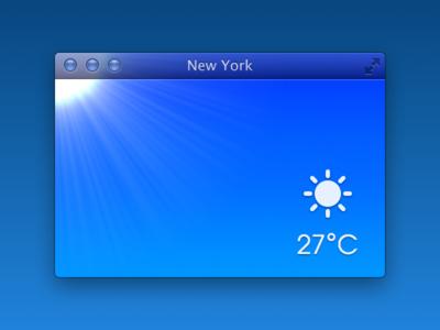 Mac Weather App