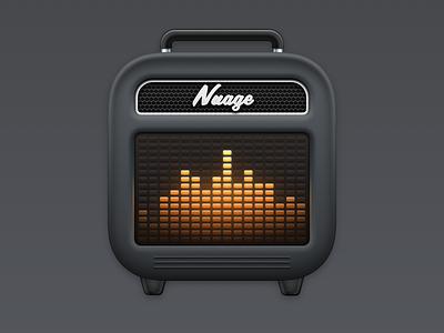 Nuage App Icon sketchapp made with sketch sound amplifier mac soundcloud soundwave speaker big sur big sur icon macos app icon icons app icon