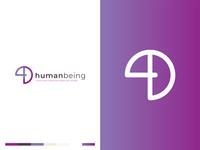 4D Human being logo