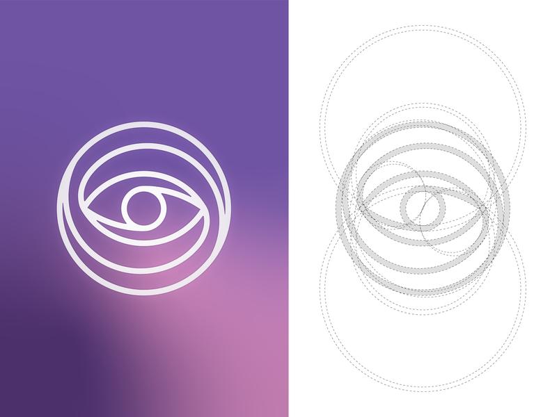 Subliminal Vision Boards Rebrand universe galaxy logo construction brandmark illustration brand vector geometric abstract branding design simple brand design minimal logo design logo branding art direction minimalist graphic design design