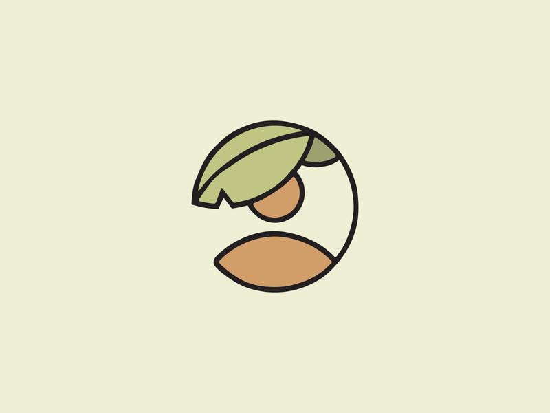 Unused mark for a non-profit child palm tree tropical non-profit vector brand design logo design branding minimalist art direction graphic design design