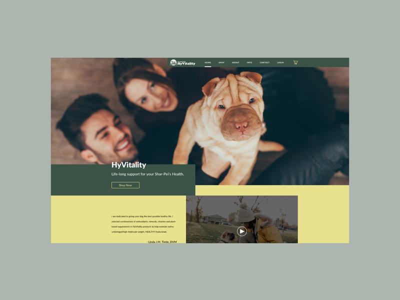 Redesign Concept vet petcare dogs websites ux ui simple minimal branding minimalist art direction graphic design design webdesign website design website
