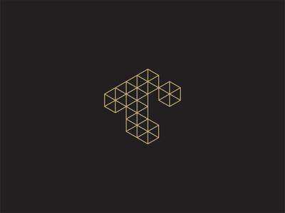 Another T Letter Mark development systems technology blockchain blocks letter t t mark lettermark geometric logo design logo art direction typography branding design brand minimal branding minimalist graphic design design