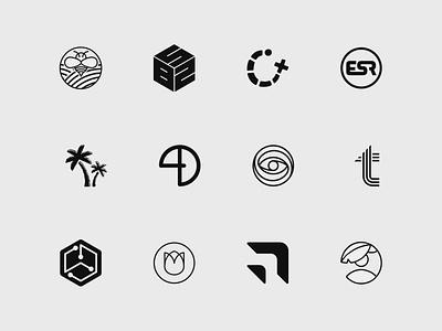 Brandmarks logos logo line art brand identity brandmark vector branding design brand brand design logo design branding minimalist art direction graphic design design