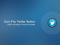 CSS3 Coin-Flip Animation