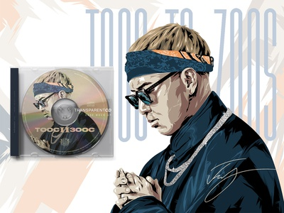 TOOS TO ZOOS I  CD illustration