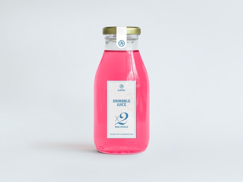 Dribbble Juice / x2 Invitations ui ux people mad juice pink dribbble invitation invite
