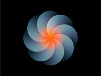Circle flower